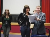 Carmela Ramaglia, Karla Mason and Greg Kerr at the DaVinci Film Festival