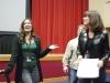 Carmela Ramaglia, Dave Chaney and Karla Mason at the DaVinci Film Festival