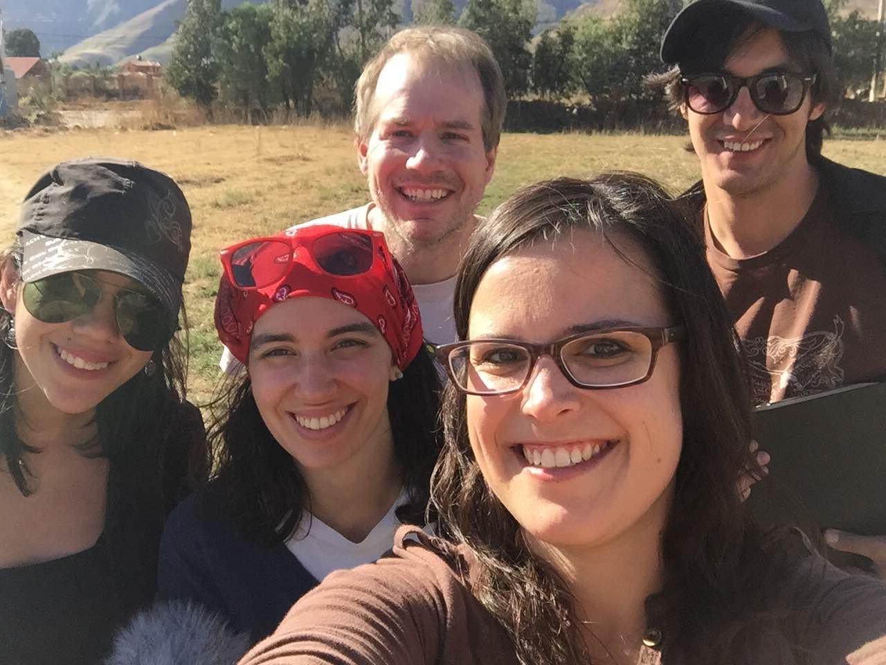 Some of our crew in Cochabamba, Bolivia.