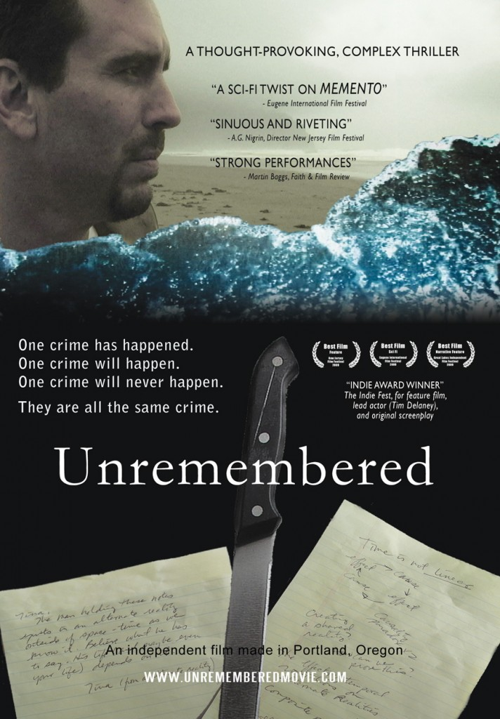 Unremembered DVD front panel