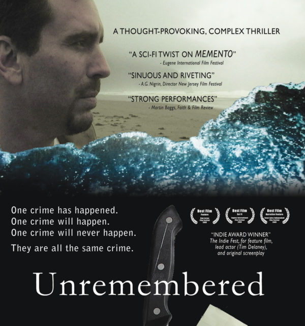 Unremembered DVD front panel half