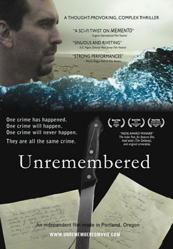 Unremembered DVD cover art
